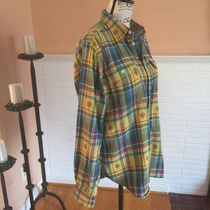 Polo Ralph Lauren Plaid Buttoned Down Shirt